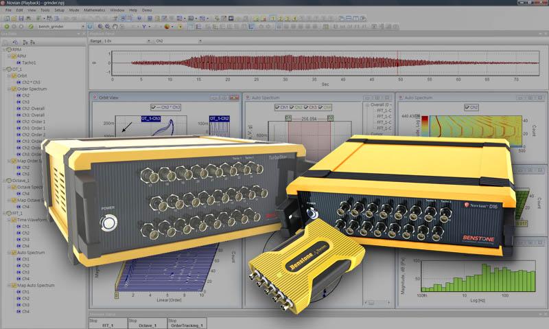 4-128 channel PC based Sound & Vibration Analyzers, dynamic signal analyzer