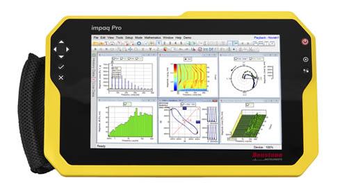 impaq Pro portable 4 channel dynamic signal analyzer, sound and vibration analzyer